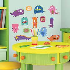 Scooby Doo Bedroom Decorations Monster Wall Decals Totally Kids Totally Bedrooms Kids