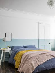 how to get a half painted wall right