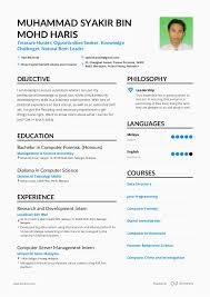 Resume 2017 Custom Resume 60 April 60