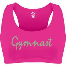 Gymnast Sports Bra Of Course I Would Where Something Over It