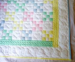 Nine Patch Amish Baby Quilt & ... Amish Infant Quilt 9 Patch detail ... Adamdwight.com