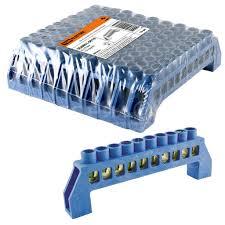 <b>Колодка клеменная N, 10</b> контактов, TDM Electric SQ0801-0019, в ...