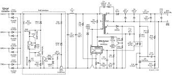 simple circuit design tutorial for poe applications 6 6 w single output 3 3 v flyback converter circuit diagram