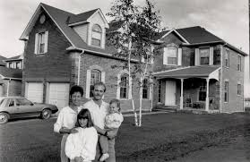 Family home: Paul and Paulette McGill and their children Jennifer ...