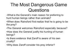 the most dangerous game ppt video online the most dangerous game questions