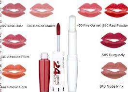 Maybelline 24 Hour Lipstick Colour Chart Maybelline 24 Hour Superstay Lipsticklong Lasting Lipstick