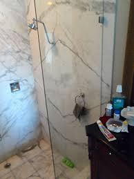 frameless shower splash guards