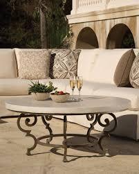 lane venture hemingway outdoor floine round coffee table neiman marcus