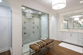 multiple shower heads. shower with multiple heads