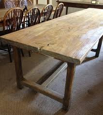 large stretcher normandy antique table