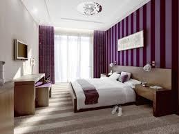Purple Bedroom Paint Colors Romantic Bedroom Design Using Modern Interior With Metalic Pendant