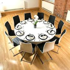 round dining room tables for 10 large round dining table seats awesome dining table large round