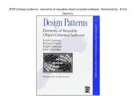 Design Patterns Elements Of Reusable Object Oriented Software Pdf Beauteous PDF] Design Patterns Elements Of Reusable Objectoriented Software