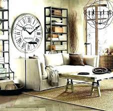 large clocks for living room astounding decorative wall clocks for living room oversized mirror wall clock
