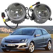 Led sis lambaları DRL gündüz sürüş işık için Opel Astra H GTC 2004 2010  Zafira B Corsa D meriva A|