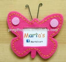 2018 Photo Butterfly - Handmade com Wholesale Cheap latest Craft Buy Of Girls Hot Design Fabric Frames On Frames Felt Beautiful baby Alibaba Product Latest Decoration Frame Home Girl Hotsale