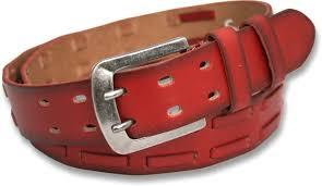 mens 40mm burnt red full grain leather dual g belt 754 p jpg