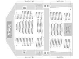 Competent Chrysler Hall Seating Chart Detailed 2019