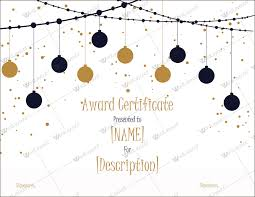 Microsoft Award Templates Christmas Themed Award Certificate Templates Download In