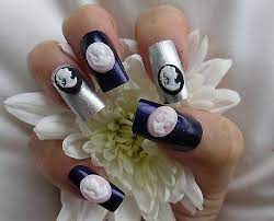 3d nail art cameo kawaii resin