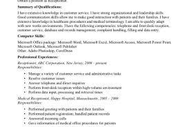 Dental Receptionist Resume Examples Tomyumtumweb Com