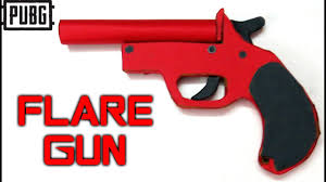 Flare guns are one of the rarest and most favourite things to get on any classic map in pubg mobile. Pubg Flare Gun Drawing