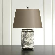 furniture table lamp with antiquated mercury glass base crate and barrel lighting table lamp with antiquated mercury glass base crate barrel lighting