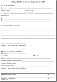 Employee Termination Templates 28 Samples Of Termination Letter Templates Formats