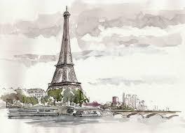 Tour Eiffel Dessin Recherche Google Projet Illustration