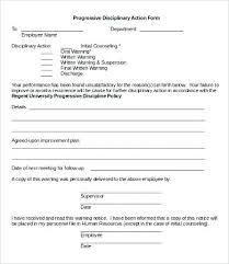 Restaurant Write Up Forms Restaurant Employee Write Up Form Disciplinary Hr Misdesign Co