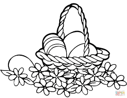 Small Picture Easter Basket coloring pages Free Printable Pictures