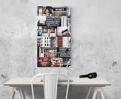 new york photo montage canvas wall