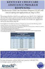 Spread The Word Kentucky Child Care Assistance Program