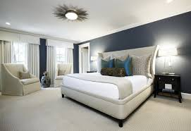 best ceiling lights for master bedroom with contemporary table lamps and cozy color schemes