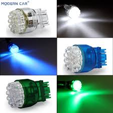 Blue Reverse Lights Us 0 78 30 Off Modern Car 25led 12v Car Light Bulb License Plate Light Stop Parking Lamp Blue White Green Signal Lamps Clearance Reverse Lights In