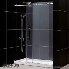 shower door u0026 base kit dreamline shower doors 664