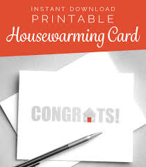 New Home Greeting Cards Printable Printable Card New House New Home