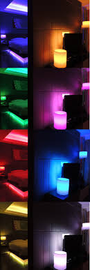 cool indoor lighting. Cool Things And Creative Colors You Can Do With Revogi Smart Light Bulbs Strips #Revogi #Indoor #Lighting #LivingRoom #Bedroom #Decoration Indoor Lighting O
