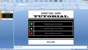 How To Make A Game In Powerpoint How To Make A Shooting Game With Ppt Game Based Learning Games