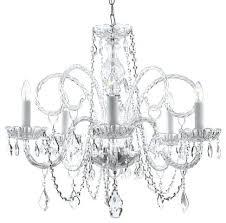 5 tier crystal chandelier antique 5 tier crystal chandelier 1920s odeon clear glass fringe