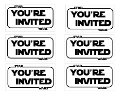 The Contemplative Creative Star Wars Party Invitation