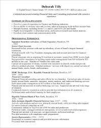Financial Advisor Responsibilities Resume - Igrefriv.info