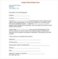 Photographer Release Forms Cool Generic Copyright Release Form Heartimpulsarco
