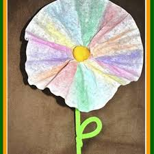 For insect lovers, make a colorful butterfly, inspired by imperfect. Coffee Filter Flower Diy For Kids