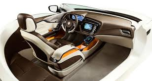 The Bespoke interior showcases Johnson Controls' vision for integrating  electronics, interiors and seating into