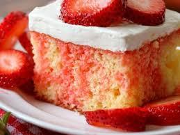 Strawberry Shortcake Poke Cake Video Lil Luna