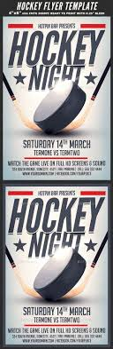 Fishing Tournament Flyer Template Hockey Stick Graphics Designs Templates From Graphicriver Page 2