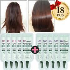 Home <b>Salon</b> Premium Protein <b>Hair</b> Treatment Ampoule <b>18pcs</b> / <b>Hair</b> ...