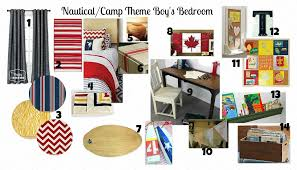Nautical Themed Bedroom Project Big Boy Bedroom A Nautical Camp Theme Inspiration And