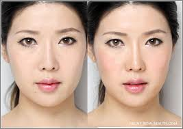 contouring tutorial for asians frb step7